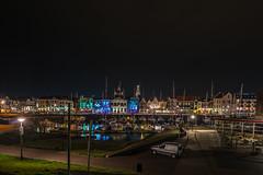 Michiel de Ruyter Haven Vlissingen by Night (frankwinkler1969) Tags: holland nacht sony zeeland fe nordsee vlissingen niederlande 163540