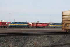 ICE 6101 (CC 8039) Tags: ice minnesota yard humboldt minneapolis trains line cp soo dme sd402 sd40 ac44cw