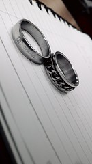Ring on the paper. (shaiful_ikhwan94) Tags: blackandwhite ring chanel chainring