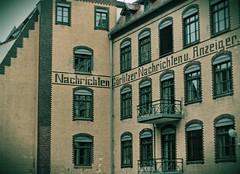 Grlitzer Nachrichten u. Anzeiger - Grlitz, Sachsen (Andr-DD) Tags: house building germany deutschland newspaper saxony haus grlitz sachsen gebude zeitung grlitzernachrichten