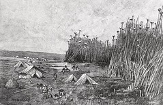 """""""Southwest Extremity of Lake Victoria Nyanza."""" From """"In Darkest Africa"""" by Henry M. Stanley. NY: Scribner's, 1890. (lhboudreau) Tags: africa reed expedition illustration reeds book tents exploring explorer illustrations books tent adventure stanley adventures explorers 1890 lakevictoria bookart henrystanley africans hardcover natives firstedition vintagebook expeditions antiquebooks antiquebook vintagebooks africancontinent scribners classicbook nyanza hardcovers classicbooks tallreeds hardcoverbooks blackafrican darkcontinent hardcoverbook charlesscribnerssons thedarkcontinent charlesscribners blackafricans indarkestafrica henrymstanley africanexpedition africanexpeditions southwestextremity lakevictorianyanza"""