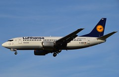 Lufthansa / Boeing 737-300 / D-ABEN / EBBR 25L / RVA Aviation Photography (RVA Aviation Photography (Robin Van Acker)) Tags: brussels airplane photography airport outdoor aircraft air jet planes vehicle airlines airliner jumbo trafic jetliner avgeek