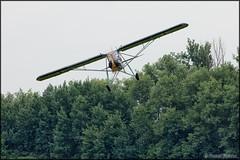 Fieseler Fi-156 Storch (UL replica) (Pavel Vanka) Tags: plane airplane fly flying spot airshow german ww2 czechrepublic ultralight spotting ul warbird storch openday luftwaffe czechia fieseler caslav fi156 lkcv