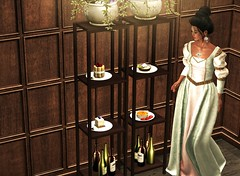 Im full. Do you want some dessert? Yes, please. (Alexa M.) Tags: people dessert lisp secondlife bazar elua lesencantades mfgc dysfunctionality nefariousinventions fantasyfaire2016
