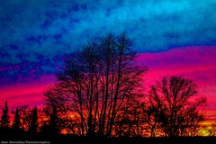 April 30 2016 Sunset Creation (Dan's Storm Photos & Photography) Tags: sunset sky nature weather clouds skyscape landscape landscapes sunsets