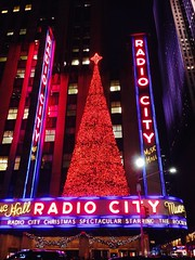 IMG_7279 (ConiferNYC) Tags: christmas nyc rockefellercenter christmaslights radiocitymusichall neonsigns newyorkatnight