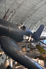 Vought F4U-1D Corsair (Diorama Sky) Tags: usmc museum airplane fighter aircraft aviation wwii flight wing worldwarii vehicle nationalairandspacemuseum airmuseum udvarhazy fuselage smithsonianinstitution unitedstatesmarinecorps stevenfudvarhazycenter nasm chancevought vought chantillyva boeingaviationhangar voughtf4u1dcorsair dioramasky voughtaircraftcompany