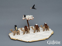 Snow in Kaliphlin (Jonas Wide) Tags: snow birds lego camels kaliphlin guildsofhistorica frozenbeyond