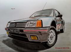 Peugeot 205 T16 (paul7310) Tags: turbo peugeot 205 t16