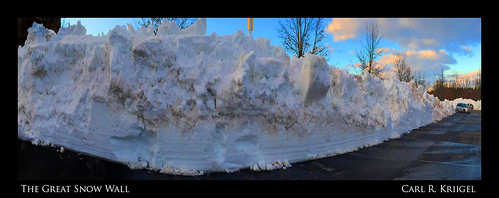 15 Great Snow Wall
