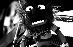 monstrosity... (Stu Bo) Tags: light blackandwhite monster eyes shadows ride teeth engine machine spooky killer warrior motor monstrosity carshow kool musclecar goodtimes carphotography kustom showcar worldcars notafordbutstillonefineauto youjustdontseethiseveryday sbimageworks whatsunderyourhood
