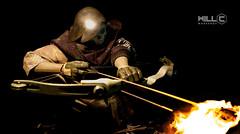 ThreeA Death Mask Archer (chiendol) Tags: death king mask 3a flame bow arrow 16 archery archer tomorrow threea