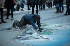 DSC_0307-2 (RoySutherland235) Tags: london trafalgarsquare streetartist