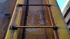 THE SAVAGELAND (BLACK VOMIT) Tags: car train graffiti iron streak box rip folklore fist oil land boxcar brotherhood dixie freight 222 slander savage dif conrail twitty moniker savageland flbh