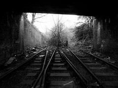 Wednesbury in B&W (Jason_Hood) Tags: disused abandoned railway railroad southstaffordshireline southstaffordshirerailway