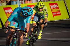 Whatever you do don't look back (*ScottyO*) Tags: city classic sports bike bicycle sport race cycling action australia racing riding adelaide sa southaustralia criterium tourdownunder astana parklands breakaway tinkoff tdu