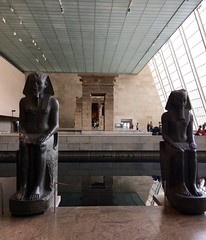 Temple Guards - NYC (verplanck) Tags: art architecture temple bc religion statuary metropolitanmuseumofart ancientegypt