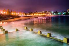 Coogee Mornings (dave.gti) Tags: ocean beach nightlights australia coogee rockpool surfclub
