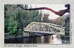 The Jubilee Bridge, Matlock Bath (setsuyostar) Tags: bbw milf jubileebridge matlockbath kenhawley canonpowershotsx50hs january2016 winter2016