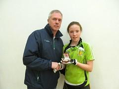 Girls U13 Final Presentation Clodagh Munroe