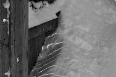Day After Storm Jonas 09 - Fence Light Lines (George - with over 2 mil views - THANKS) Tags: winter light shadow bw usa snow monochrome us blackwhite newjersey unitedstatesofamerica snowstorm january mercercounty ewing winterstorm winterscene monochromephotography acdseepro photogeorge nikond750 winterstormjonas