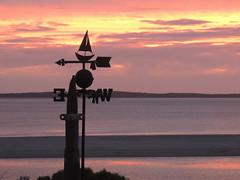 Perfect Sunset & Perfect Weather (bigbirdma) Tags: ocean sunset seascape west weather wind little outdoor south north australia east weathervane vane douglas peninsula southaustralia eyre northsouth eyrepeninsula littledouglas