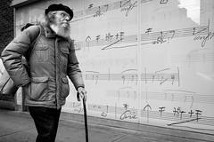 Ode to Joy (johnjackson808) Tags: people music cane vancouver downtown streetphotography vso seymourst schoolofmusic friedrichschiller odetojoy fujifilmxt1
