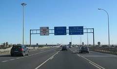 A-66-3 (European Roads) Tags: de la sevilla andaluca spain plata andalusia alto venta santiponce autova a66 gerena algaba