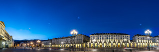 Planetary alignment seen in Turin