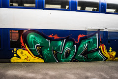 TOC ARTS (nARCOTO) Tags: train graffiti graff graffitis transilien