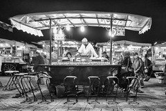 Chez Mustapha #2 (enzo marcantonio) Tags: africa street leica city travel people blackandwhite bw food night work square outside holidays place outdoor streetphotography eat enzo marocco marrakech souk streetphoto q streetfood summilux ethnicity jamaaelfna marcantonio leicaq enzomarcantonio