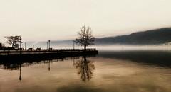 * (PattyK.) Tags: winter lake reflections lakeside february whereilive ilovephotography winterlandscape ioannina giannina ilovemycity giannena epirus bythelake ipiros pamvotida         lakepamvotida ioanninalake  samsungj5