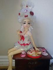Romantic Michru (SupaMunePupas) Tags: doll bjd rococo dollmorekidvian