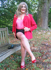 Godihotgdn-003 (fionaxxcd) Tags: nipples tights crossdressing bust thighs tranny transvestite redlipstick pantyhose crossdresser hotpants rednails trannie mtf m2f stiliettoes