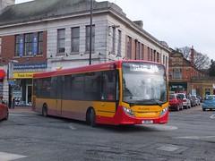Midland Classic 1 Burton (Guy Arab UF) Tags: street new bus classic buses 1 trent 200 alexander dennis staffordshire midland upon burton enviro independents e20d jb14mcl