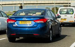 1159911 (rOOmUSh) Tags: auto blue car hyundai i35 elantra 11xxx11