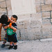 Kids in Ramallah