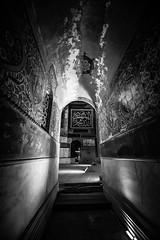 Tunnels of Hagia Sophia (oguz.unver) Tags: history architecture turkey blackwhite culture istanbul hagiasophia ottomans byzantine