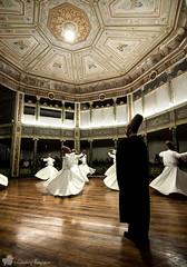 Dervishes / Sema Ceremony (©radicalme) Tags: travel history turkey photography istanbul ottoman sema tr lightroom mevlana galatamevlevihanesi