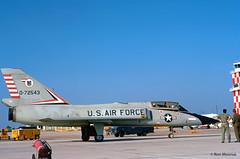 USAF, Convair F-106B Delta Dart (Ron Monroe) Tags: usaf interceptor convair unitedstatesairforce f106 deltadart tyndalafb 072543 williamtell1972