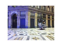 Naples 2013 (Nanacondia) Tags: christmas italy italia letters napoli naples marble albero natale umberto galleria lettere marmo