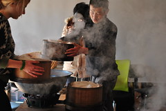 Kyobancha, handprocess (Obubu Tea) Tags: greentea matsu kansai japanesetea wazuka handprocess obubu kyobancha