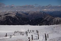 冬の伊吹山から (deep.deepblue) Tags: japan nikon jp 日本 冬 shiga d610 滋賀県 伊吹山 米原市
