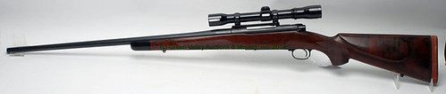 Winchester Model 70 338 Win. Mag. Bolt-Action Rifle w/ Custom Barrel & Redfield scope $880.00 - 4/11/14