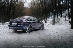 The legacy (Slabu Sorin Daniel) Tags: winter snow rally turbo subaru sti legacy jdm