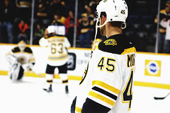 2/18/2016 (christina mccullough) Tags: hockey nhl bruins bostonbruins joemorrow bridgestonearena
