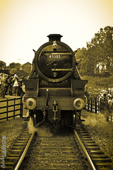 DSC_0264-1 KD Photography Watermark (kelleherdunmore.photography) Tags: station sepia fire war wwii great central railway battle 1940s german american ww2 shooting feuer reenactment 2015 rothely