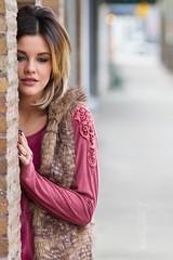 Amber (austinspace) Tags: street portrait woman washington spokane district garland blond blonde shops brunette stores avenue