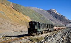 Colors! (david_gubler) Tags: chile train railway llanta potrerillos ferronor