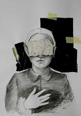 Obsesin de retorno (ca.chezmay) Tags: collage obsession dibujo graphite retorno grafito casm obsesin